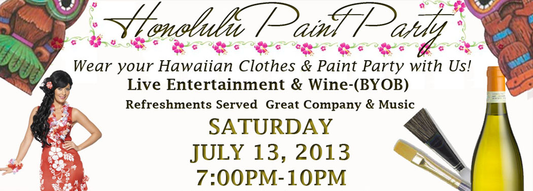 Painting for Singles & Couples: Honolulu Night