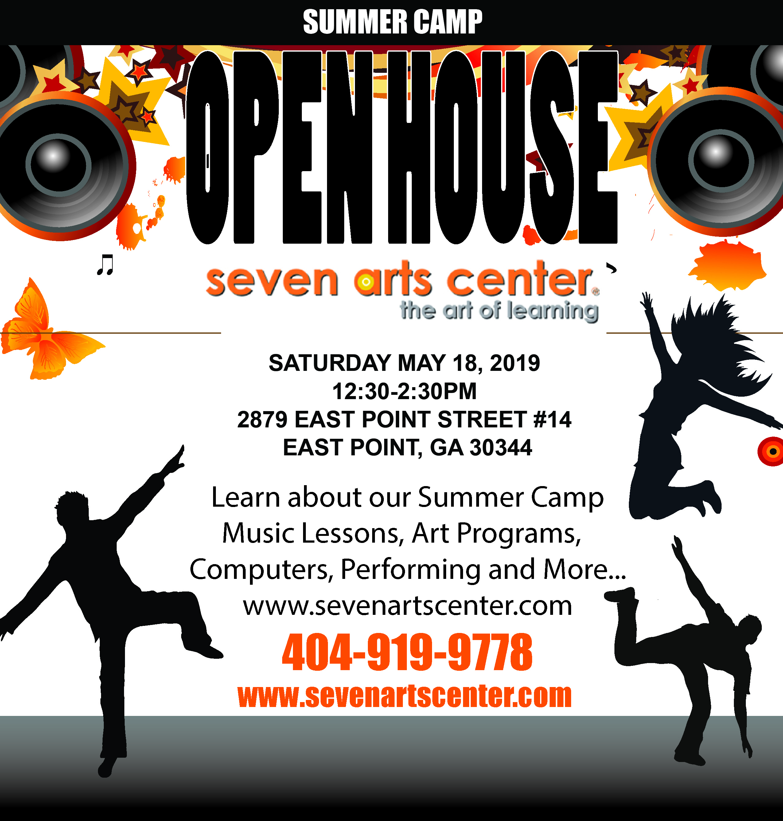OPEN HOUSE SUMMER CAMP -SESSION 1